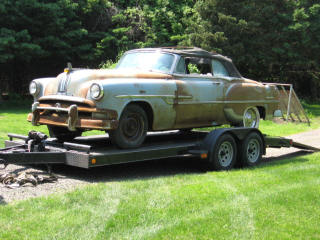 1953 Pontiac Chieftain Deluxe Convertible Like Catalina Belair
