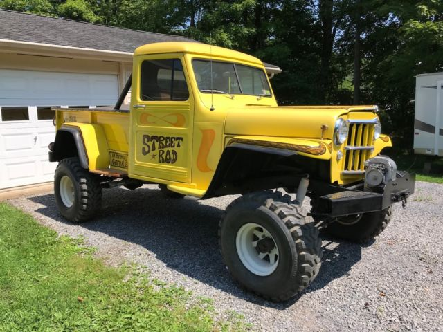 Willys Jeep Truck For Sale >> 1953 Willys Jeep Truck Classic Willys 4 75 Pickup 1953 For
