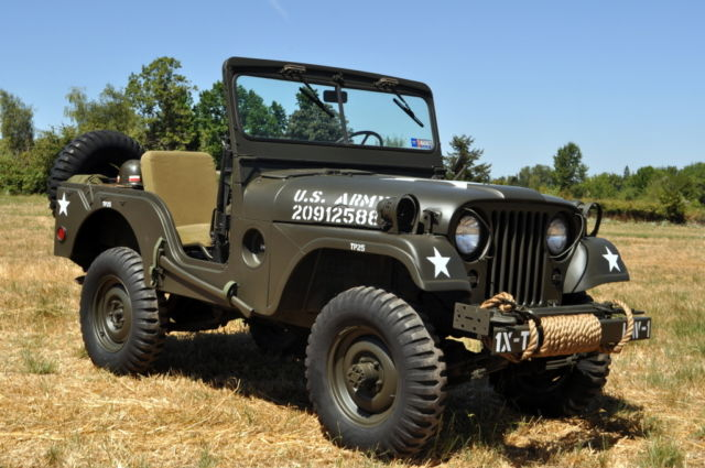 1953 Willys M38a1 Military Jeep M38 4x4 Hurricane Korean