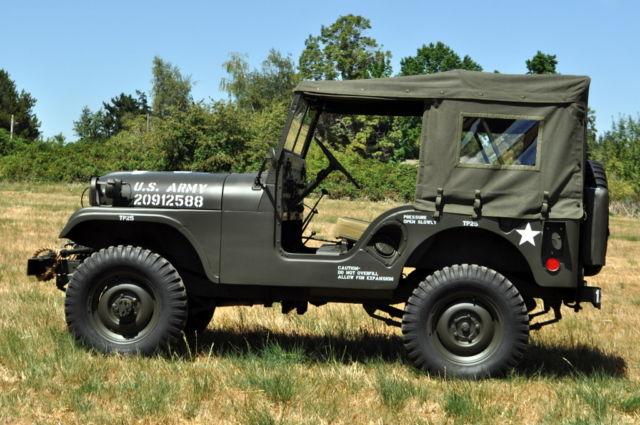 1953 Willys M38a1 Military Jeep M38 4x4 Hurricane Korean