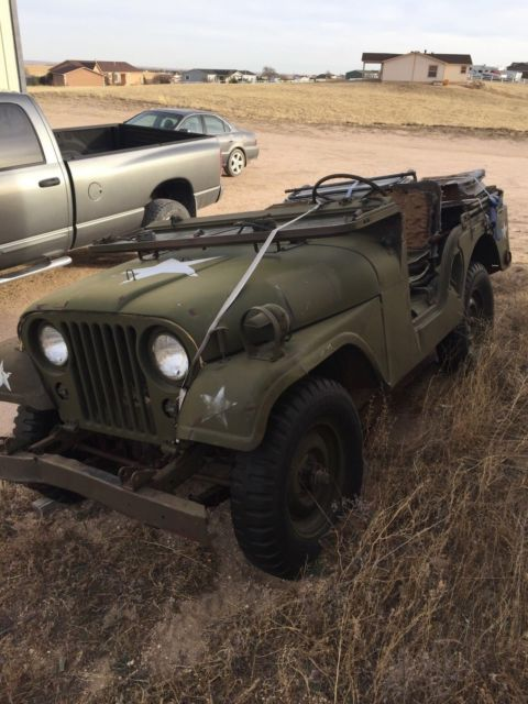 1953 Willys M38A1 Military Jeep Restoration Project with