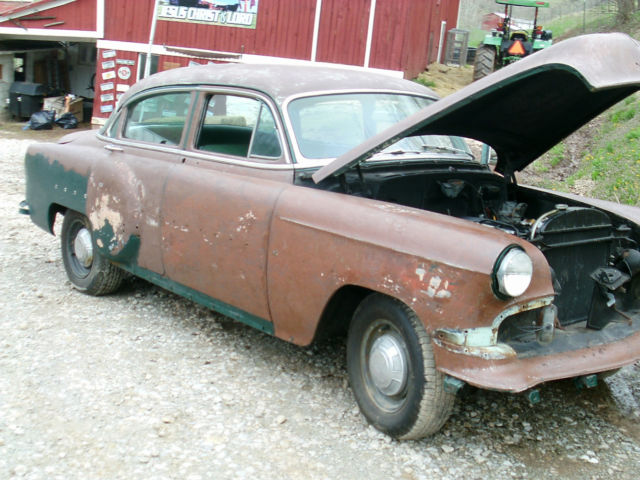 1954 54 Chevy Chevrolet 210 Project Car No Reserve