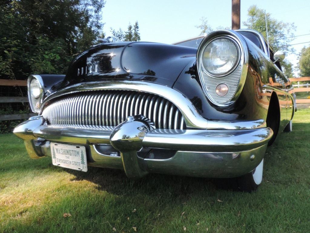 1954 buick roadmaster 2dr hardtop 76r original unrestored. Black Bedroom Furniture Sets. Home Design Ideas