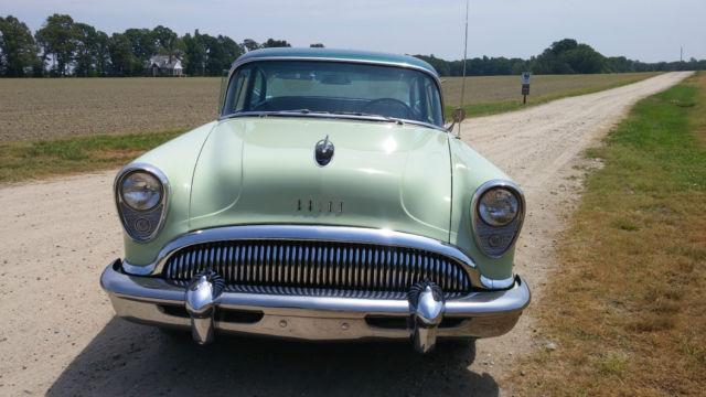 1954 buick special 2 door sedan 264 v8 w dynaflow for 1954 buick 4 door