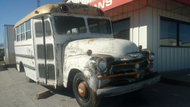 1954 Chevrolet 3800 3 Window Short School Bus Yes I Said