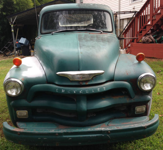 1954 Chevrolet 6400 1 1/2 Ton Great Restore Or Parts Truck