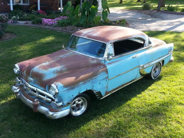 1954 chevrolet bel air 2 door hardtop vintage patina rat for 1954 chevy 210 2 door