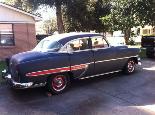 1954 chevrolet bel air base sedan 4 door 350 engine
