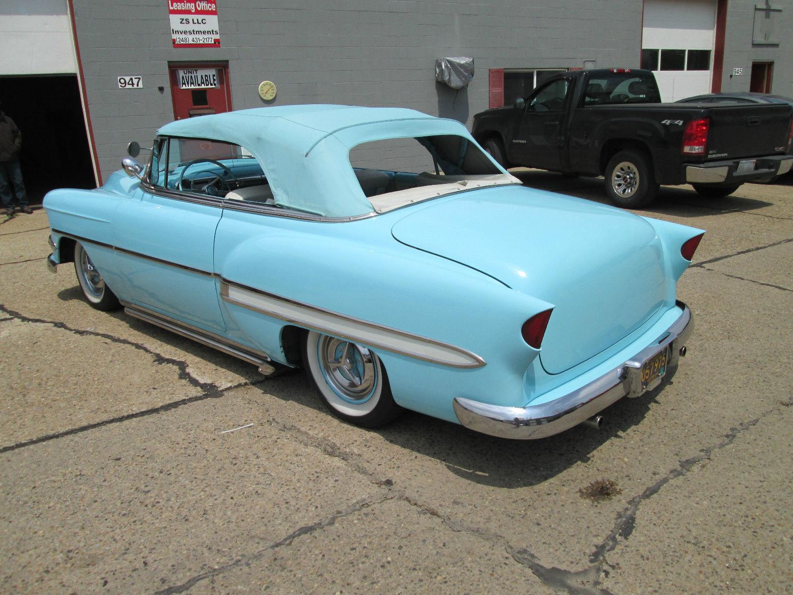 1954 Chevrolet Belair Custom Convertible Classic Bel Air 1957 Chevy Lowrider
