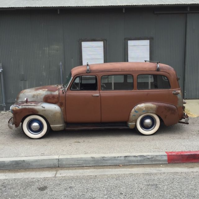1954 Chevrolet Suburban Carryall Lowrider Custom 1950