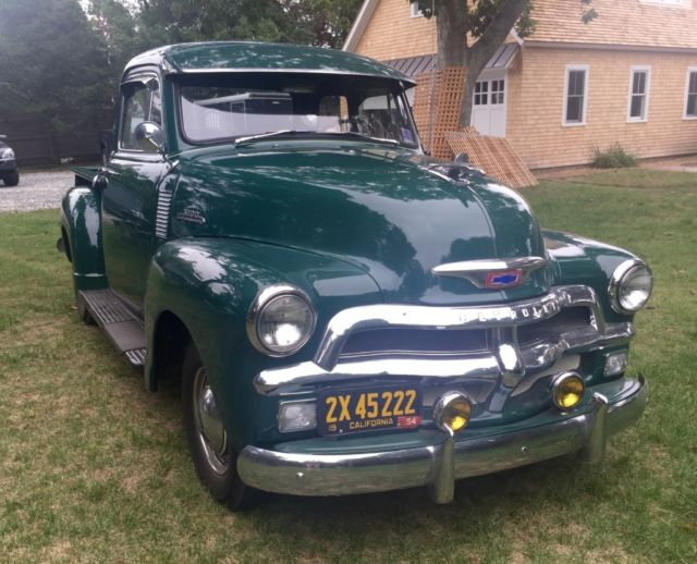 1954 chevy 3100 5 window pick up classic chevrolet other for 1954 chevy 3100 5 window