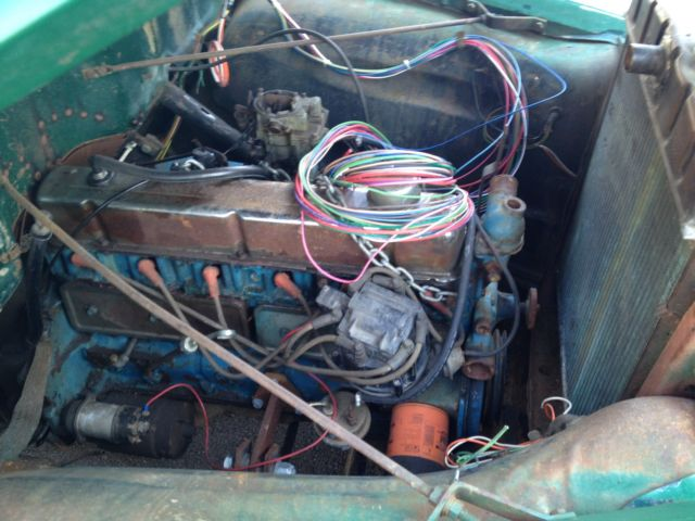 1954 Chevy 3100 Pickup Project Truck Straight Six