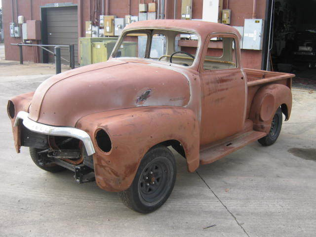 1954 chevy 5 window truck 3100 no reserve rat rod barn for 1954 chevy 3100 5 window