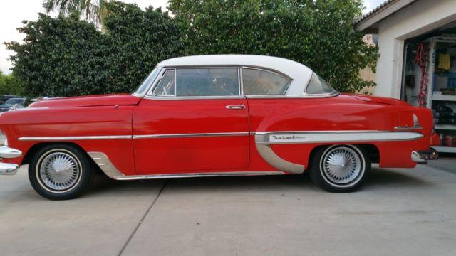 1954 chevy belair 2 door no post classic chevrolet bel for 1954 chevy 4 door