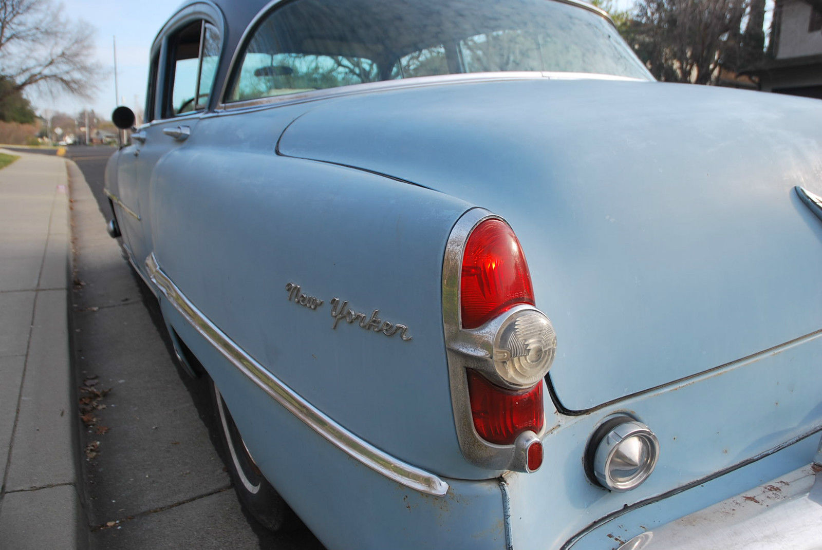 1954 Chrysler New Yorker Base 54l Hemi 4 Door Sedan Classic