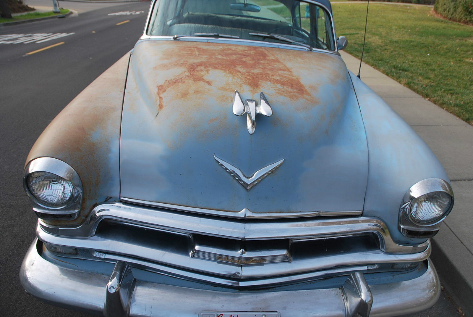 1954 Chrysler New Yorker Base 54l Hemi 4 Door Sedan Classic Prevnext