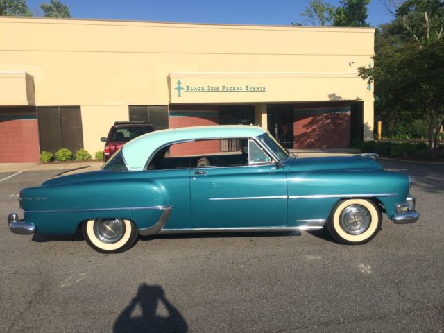 1954 chrysler newyorker newport coupe hemmi classic collector car   classic chrysler new yorker