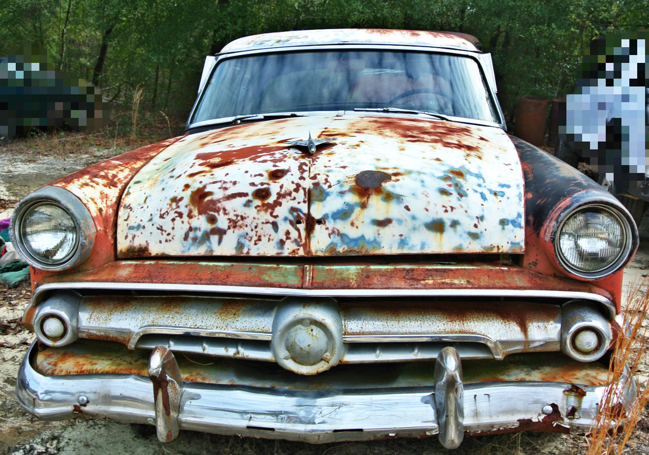 1954 ford crestline 2 door coupe project rare wind for 1954 ford mainline 2 door sedan sale