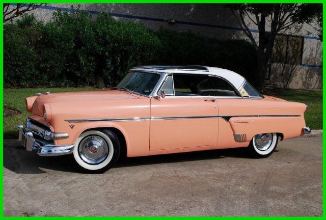 1954 ford crestline skyliner glass top classic ford. Black Bedroom Furniture Sets. Home Design Ideas