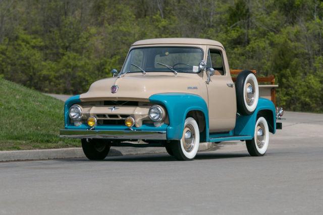 1954 Ford F100 Pickup Frame Off Restoration Inline 6