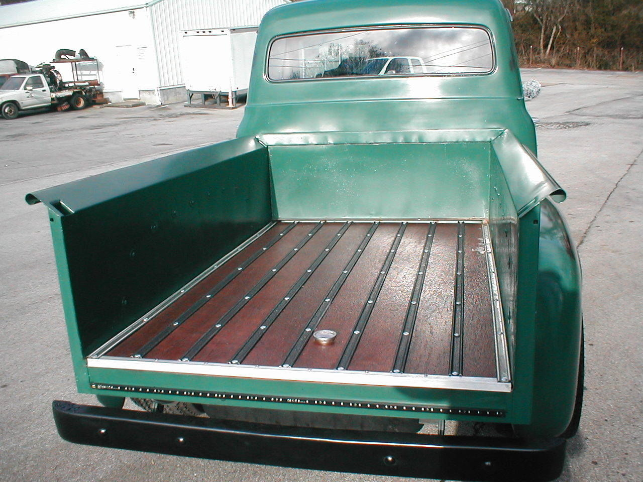 1954 Ford F100 V8 Shop Truck Patina Or Resto Mod Well Done Driver Long Bed