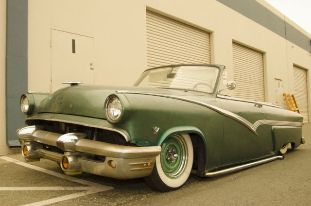 1954 ford mainline customline air ride bagged classic for 1954 ford mainline 2 door sedan sale