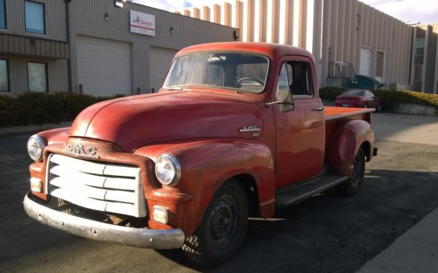 1954 GMC 100 5 Window Short Bed Pickup Truck - Classic GMC ...