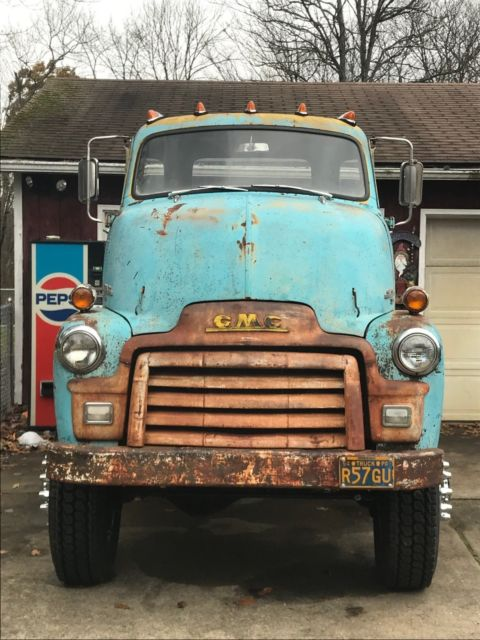 1954 Gmc Coe Cabover Truck Cab Over 350 Series Chevy