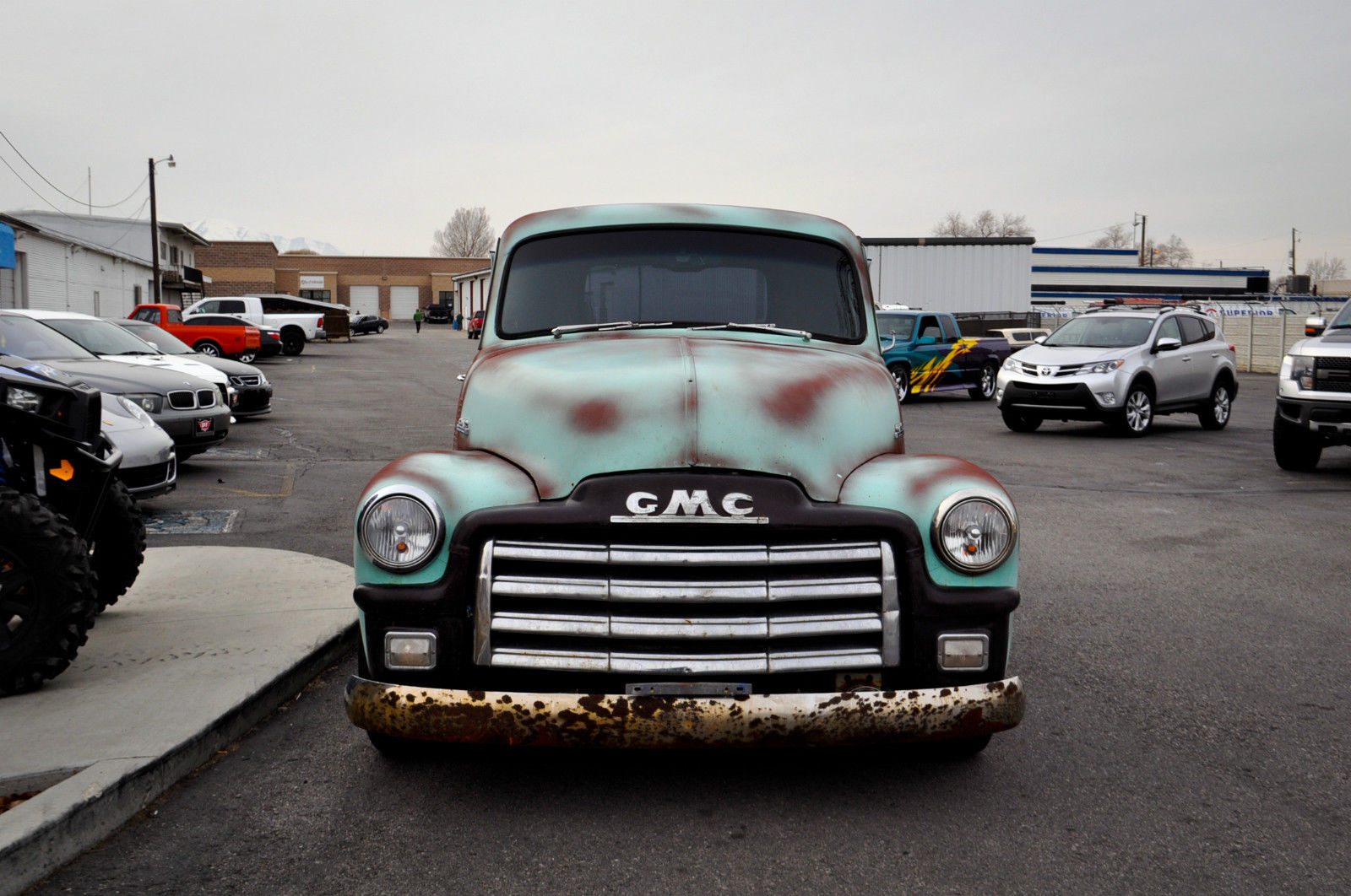 1954 gmc truck restomod classic gmc other 1954 for sale for Motor city gmc used trucks