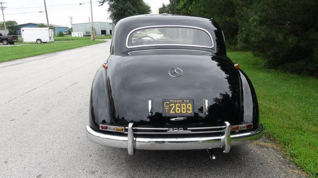 1954 mercedes benz 300 adenauer dual carb 4 speed for Mercedes benz classic car parts