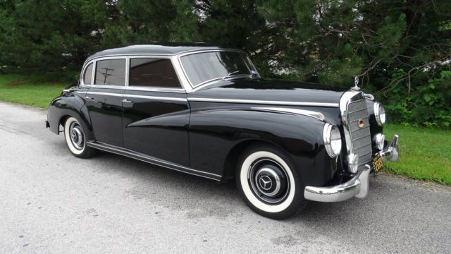 1954 mercedes benz 300 adenauer dual carb 4 speed for Used mercedes benz for sale on ebay