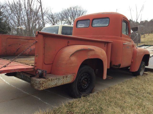 1954 R100 International Pickup Truck short bed 1/2 ton ...