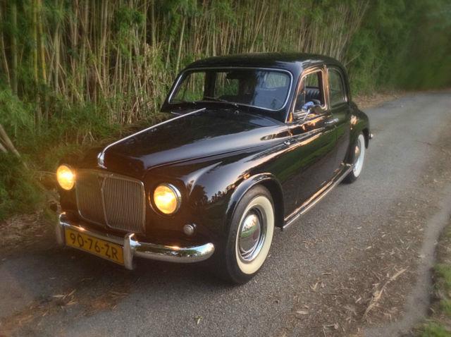 Land Rover Santa Monica >> 1954 Rover P4 Salon, Black Excellent, like Jaguar XII, California car, barn find - Classic Land ...