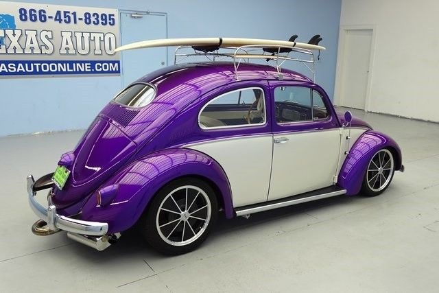 vw bug beetle oval window restored custom show car restomod texas auto classic volkswagen