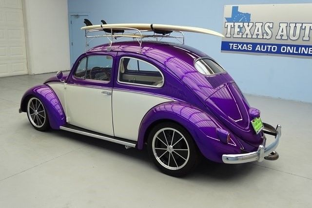 1954 VW BUG BEETLE OVAL WINDOW RESTORED CUSTOM SHOW CAR RESTOMOD TEXAS AUTO - Classic Volkswagen ...