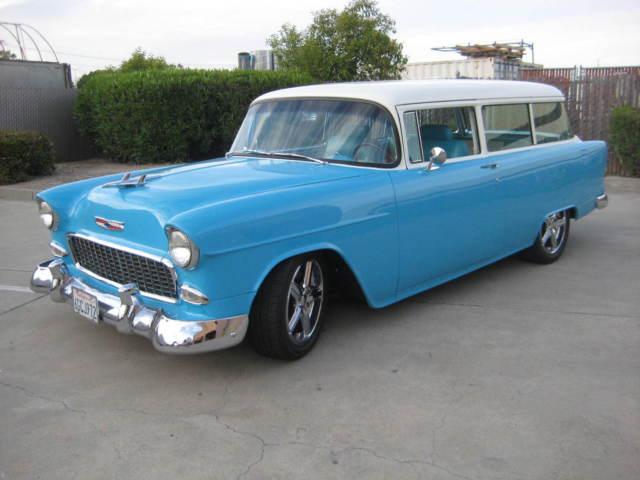 1955 150 2 door handyman station wagon classic chevrolet for 1955 chevy 2 door wagon for sale