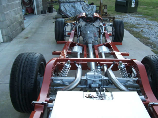 1955 1956 1957 chevy chassis/frame /c4 corvette suspension