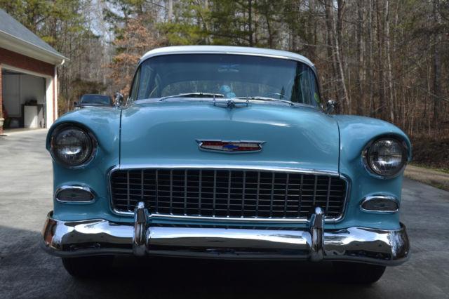 1955 55 Chevrolet Chevy 210 Two Ten Belair 150 2 door post