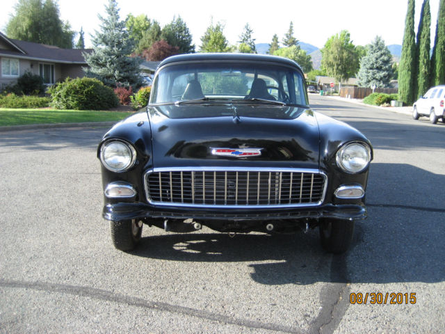 1955 55 Chevy 150 Black Beauty Gasser Ready To Race