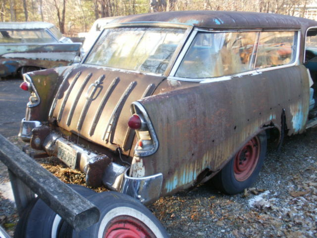 1955 -56-57 nomad project tri-fecta and parts. - Classic ...