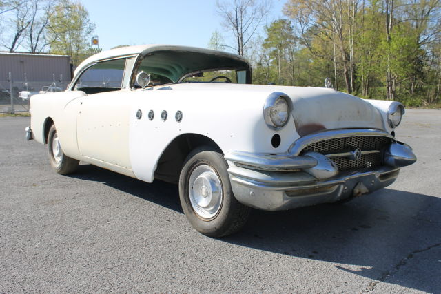 1955 buick century 55 project car barn find hotrod hot rod for 1955 buick century 2 door