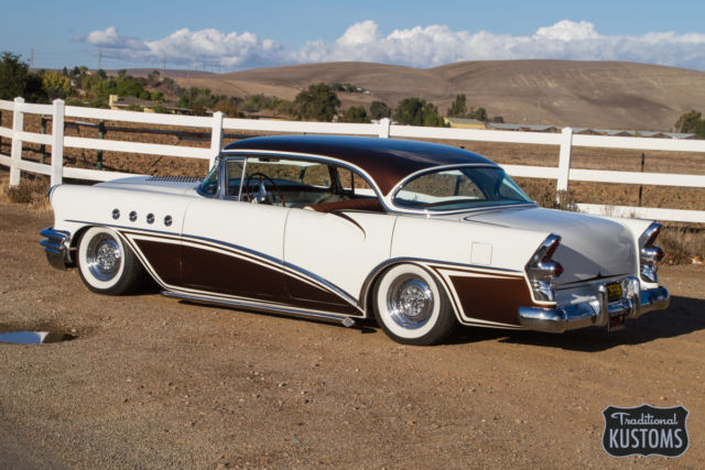 1955 buick century kustom leadsled custom hot rod for 1955 buick century 4 door hardtop