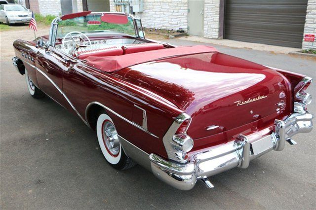 1955 buick roadmaster convertible outstanding restoration. Black Bedroom Furniture Sets. Home Design Ideas