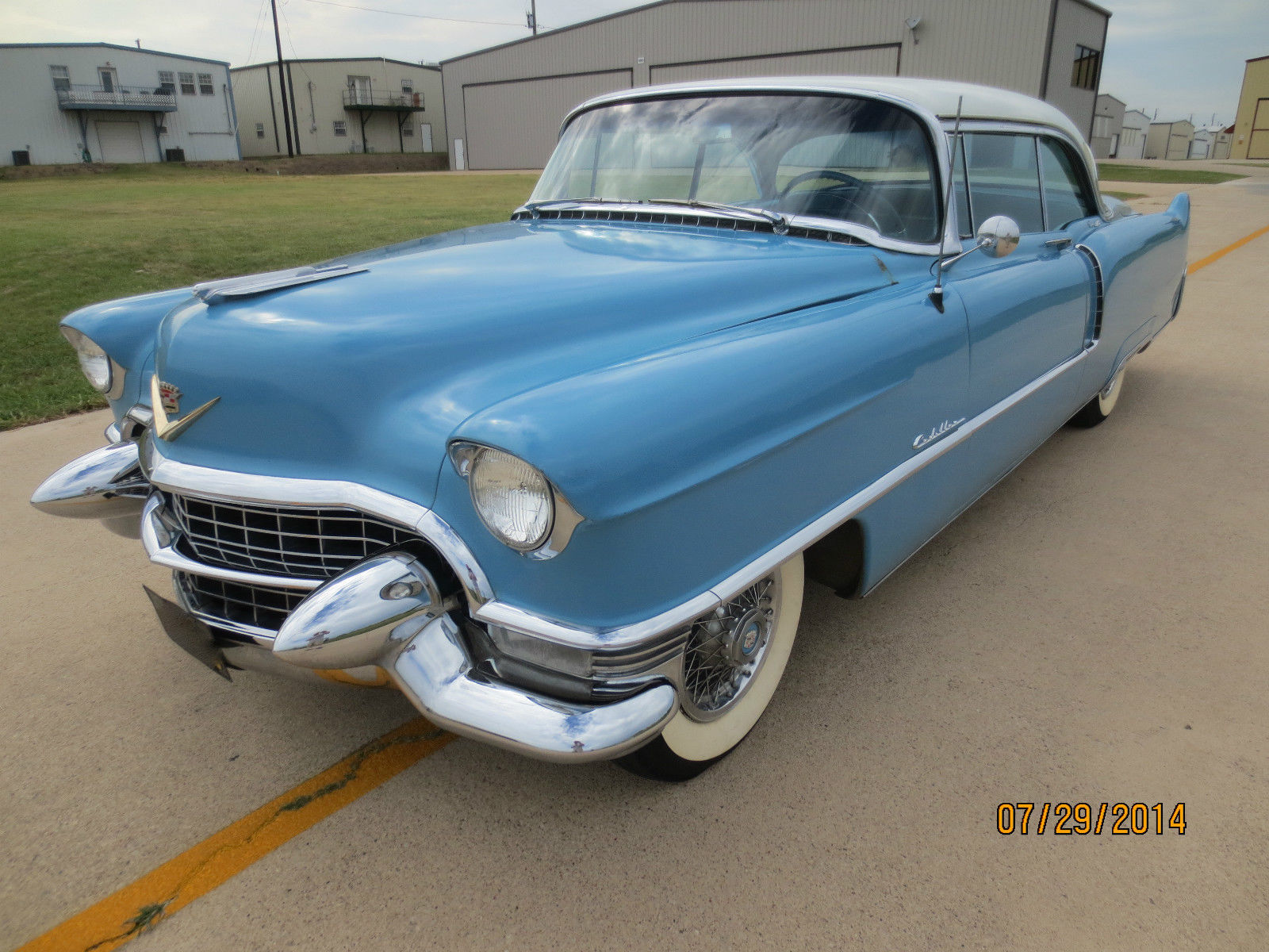 1955 Cadillac Coupe 2 Door Classic 62 Series For Sale Deville
