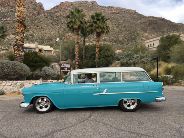 1955 chevrolet 210 2 door station wagon classic chevrolet bel air 150 210 1955 for sale