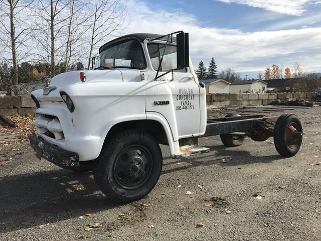 1955 Chevrolet 5700 LCF 2 ton COE Truck Project cabover cab and chassis hauler - Classic