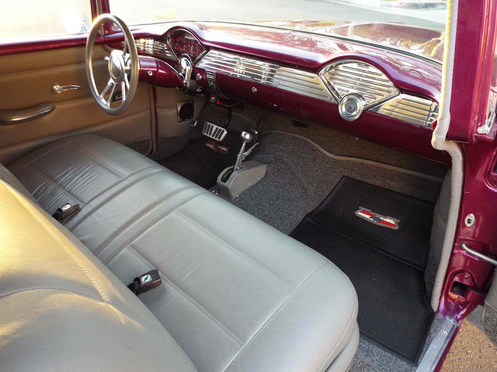 1955 Chevrolet Bel Air 210 Post Hot Rod Classic Chevy Prevnext