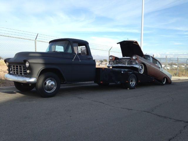 Coe Car Hauler For Sale >> 1955 Chevrolet Flat Bed Car Hauler COE Rat Rod Hot Rod - Classic Chevrolet Other Pickups 1955 ...