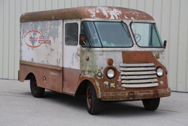 1955 Chevrolet Grumman Olson Step Van Food Truck Box