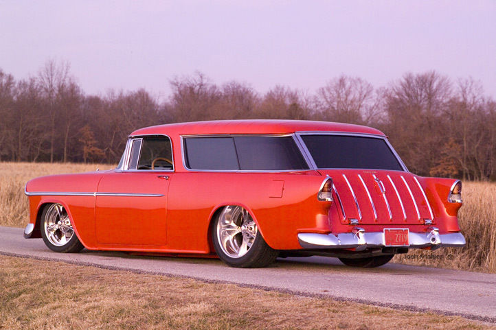1955 Chevrolet Nomad, Pro Touring, Air Ride, Show, Sema ...
